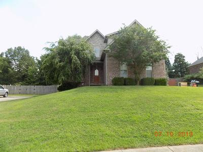 Christian County, Ky, Todd County, Ky, Montgomery County Rental For Rent: 3660 Prestwicke Place
