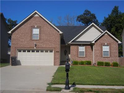 Christian County, Ky, Todd County, Ky, Montgomery County Rental For Rent: 2924 Brewster Drive