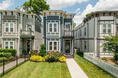 Nashville Single Family Home Active Under Contract: 1812A 7th Ave N