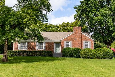 Nashville Single Family Home Active Under Contract: 3529 Crestridge Dr