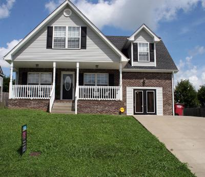 Clarksville Single Family Home For Sale: 2649 Arthurs Ct
