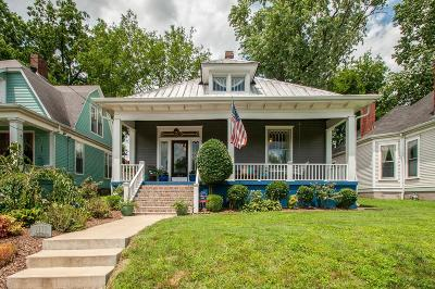 Nashville Single Family Home For Sale: 1111 Calvin Ave