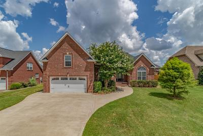 Clarksville Single Family Home For Sale: 1513 Edgewater Ln