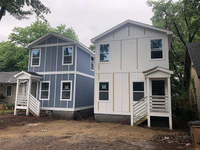 Nashville Single Family Home For Sale: 2156A Sadler