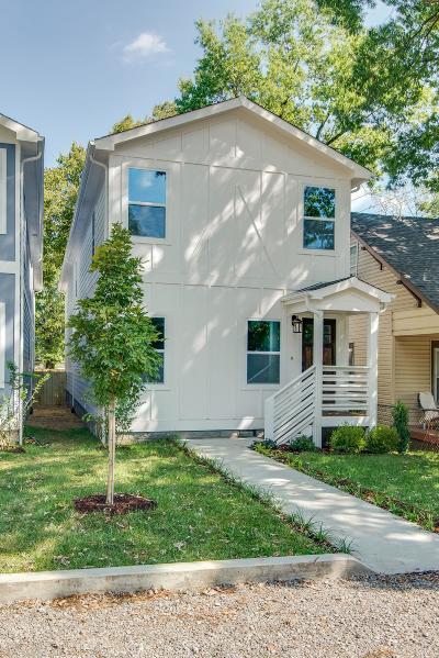 Nashville Single Family Home For Sale: 2156B Sadler