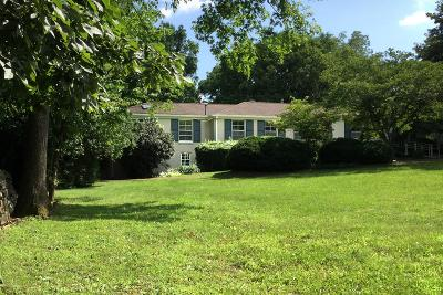 Nashville Single Family Home For Sale: 711 Davidson Rd