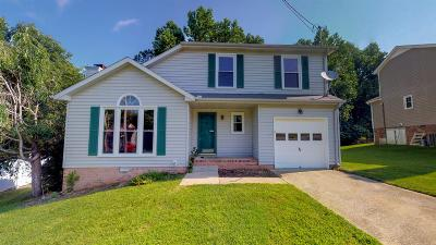 Clarksville Single Family Home Active Under Contract: 2195 Bauling Ln