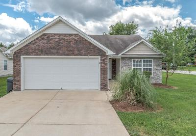 Spring Hill Single Family Home For Sale: 2000 Golden Ct
