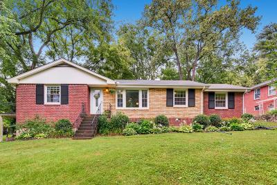 Nashville Single Family Home For Sale: 2912 Donna Hill Dr