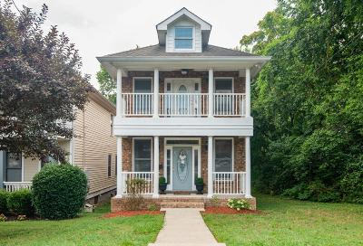 Nashville Single Family Home Active Under Contract: 1618B 6th Ave. N