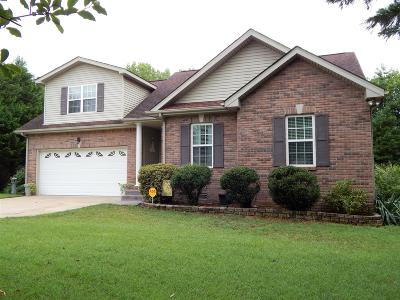 Clarksville Single Family Home For Sale: 1871 Murfield Ct