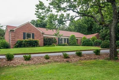 Nashville Single Family Home For Sale: 6104 Hickory Valley Rd