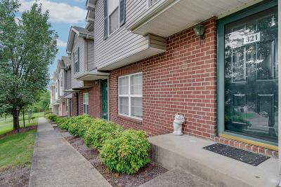 Hendersonville Condo/Townhouse For Sale: 321 Bonita Pkwy
