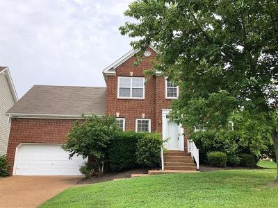 Thompsons Station  Rental For Rent: 1208 Annapolis Circle