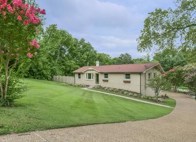Nashville Single Family Home For Sale: 5109 Leath Dr