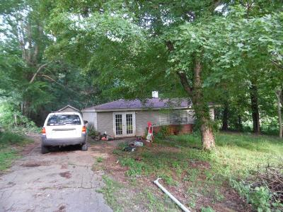 Clarksville Single Family Home For Sale: 302 Pollard Rd