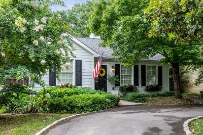 Nashville Single Family Home For Sale: 115 Lincoln Ct