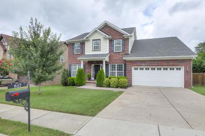 Mount Juliet Single Family Home For Sale: 617 Masters Way