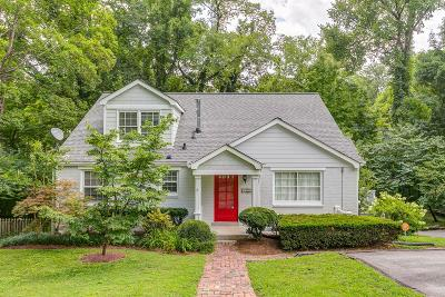 Single Family Home Active Under Contract: 3806 Auburn Ln