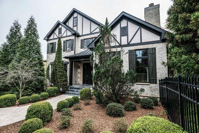 Nashville Single Family Home For Sale: 3901 Wallace Ln