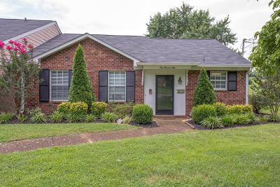 Nashville Condo/Townhouse Active Under Contract: 5600 Country Dr Apt 101