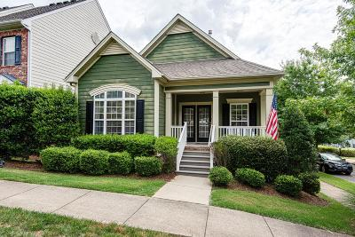 Nashville Single Family Home For Sale: 1309 Concord Mill Ln