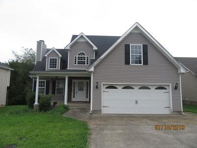 Clarksville Single Family Home For Sale: 317 Chalet Cir