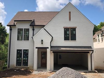 Davidson County Single Family Home For Sale: 1009A Woodmont Blvd