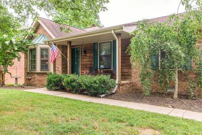 Nashville Single Family Home For Sale: 844 Fitzpatrick Rd