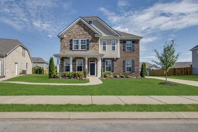 Murfreesboro Single Family Home For Sale: 3717 Willow Bay Lane - Lot 197