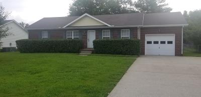 Clarksville Single Family Home For Sale: 354 Broadmore Dr