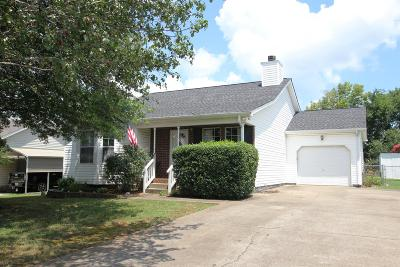 La Vergne Single Family Home For Sale: 909 Tal Ln