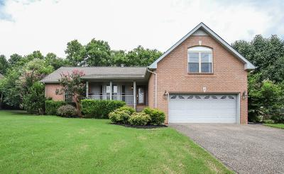 Hendersonville Single Family Home For Sale: 106 W Braxton Ln