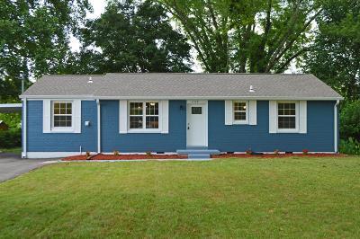 Murfreesboro Single Family Home For Sale: 1519 Atlas St