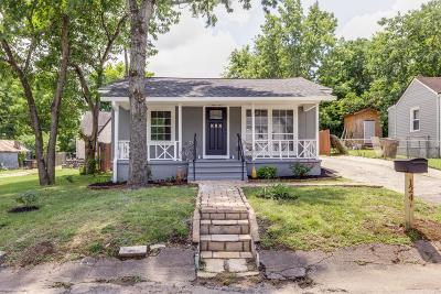 Nashville Single Family Home For Sale: 124 Lucile St