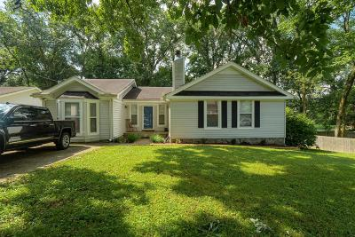 Davidson County Single Family Home For Sale: 504 Belgium Dr