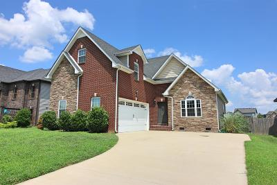 Clarksville Single Family Home For Sale: 3341 Wiser Dr