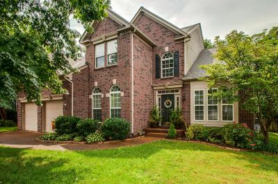 Franklin Single Family Home Active Under Contract: 411 William Wallace Dr