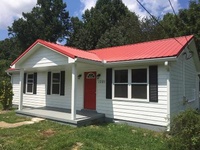 Ashland City Single Family Home Active Under Contract: 1321 Maplewood Rd