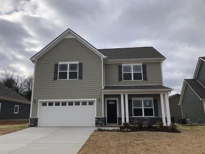 Williamson County Single Family Home For Sale: 1048 Brayden Drive Lot 95