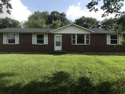 Clarksville Single Family Home For Sale: 208 Jackson Rd