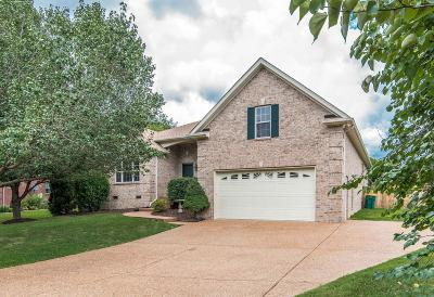 Thompsons Station Single Family Home Active Under Contract: 2710 Aragon Ct