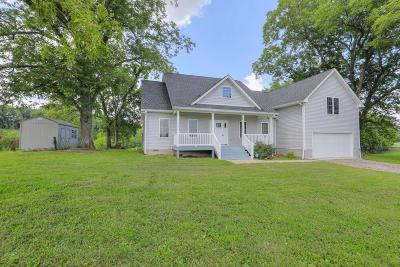 Lebanon Single Family Home Active Under Contract: 5235 Manners Rd