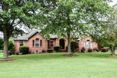 Sumner County Single Family Home For Sale: 524 Redstone Dr