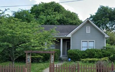 Nashville Single Family Home Active Under Contract: 1110 Fatherland St