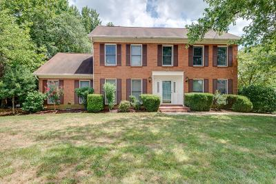 Brentwood Single Family Home For Sale: 1101 Seven Springs Ct