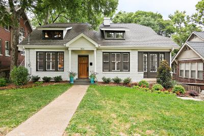 Nashville Single Family Home For Sale: 1806 Ashwood Ave