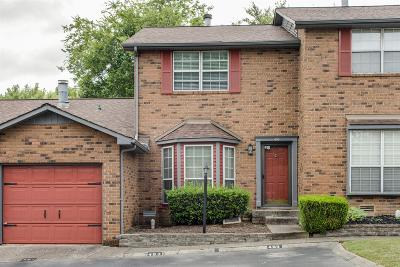 Antioch  Condo/Townhouse For Sale: 493 Hickory Glade Dr