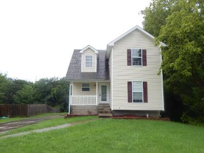 Clarksville TN Single Family Home Active Under Contract: $145,000