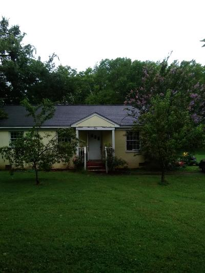 Smyrna Single Family Home For Sale: 308 Coleman St
